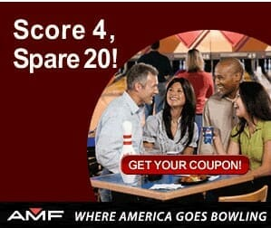 Amf bowling discount coupons